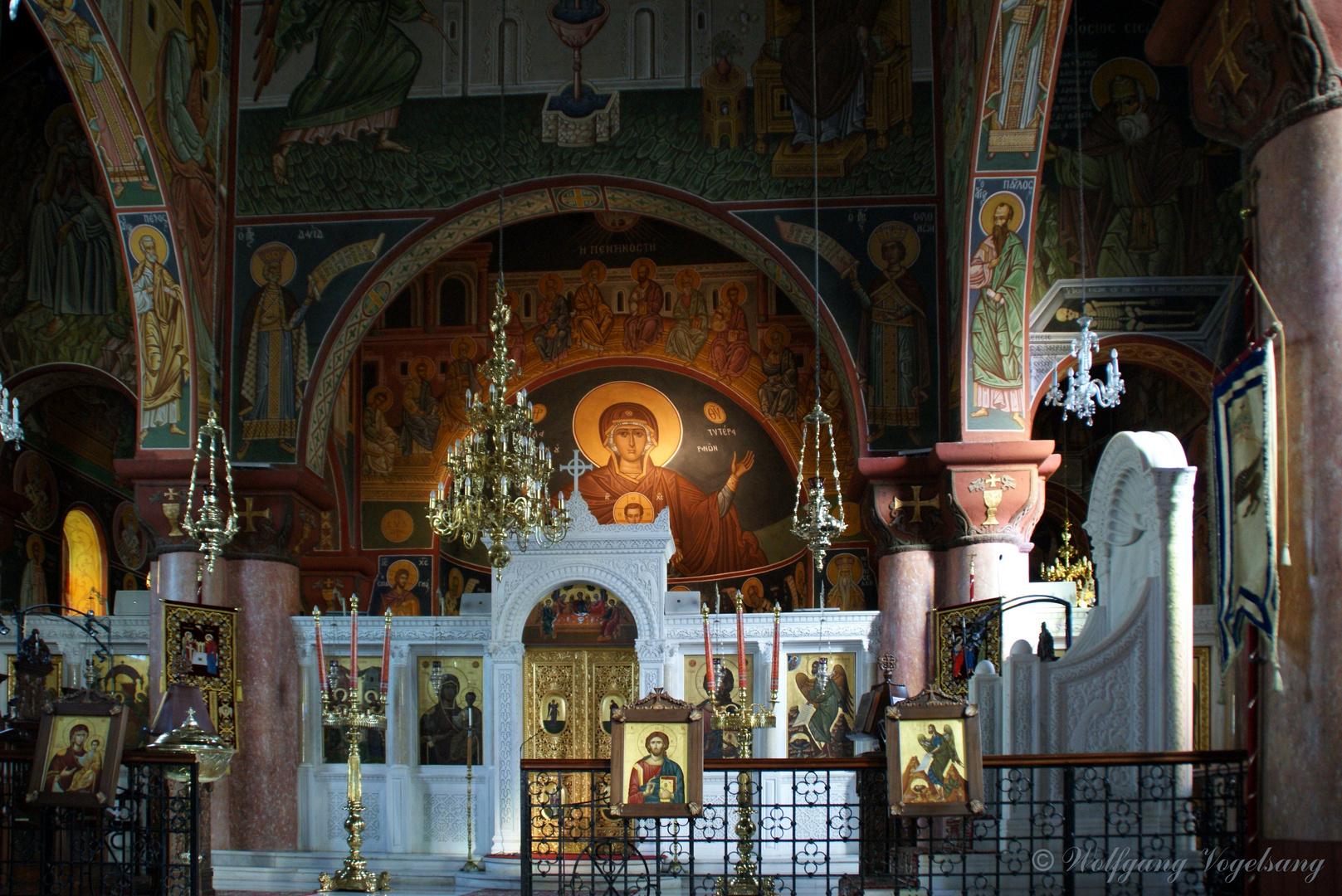 Orthodoxe Kirche auf Rhodos