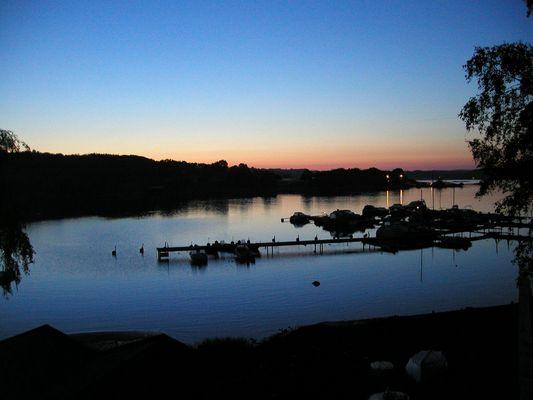 Orust (Schweden) by night