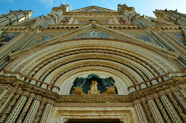 Orvieto - Die Domfassade