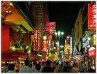 Osaka bei Nacht - Lichter der Dotonbori