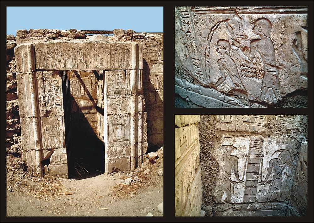 Osirisheiligtum im Karnak-Tempel