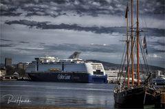 Oslo ..... Ankunft