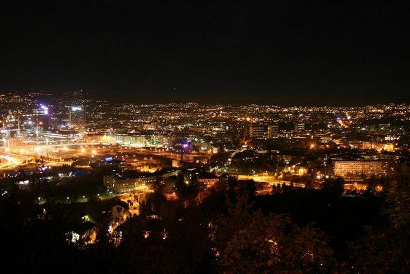 Oslo bei Nacht