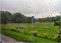 Oslo con pioggia.