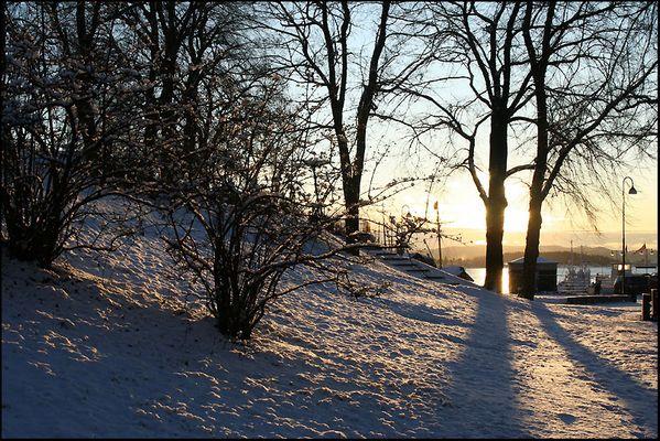 Oslo im Dezember