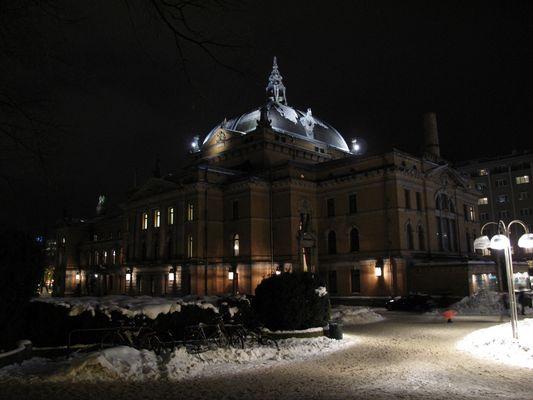 Oslo Nationaltheater - Rückansicht