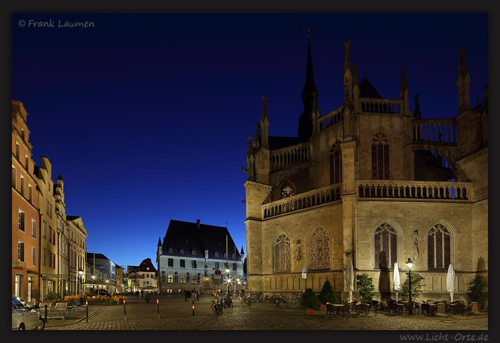 Osnabrück Marktplatz mit Rathaus