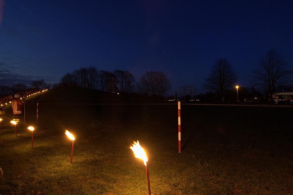 Oster-Feuerräder-Hügel in Leeste