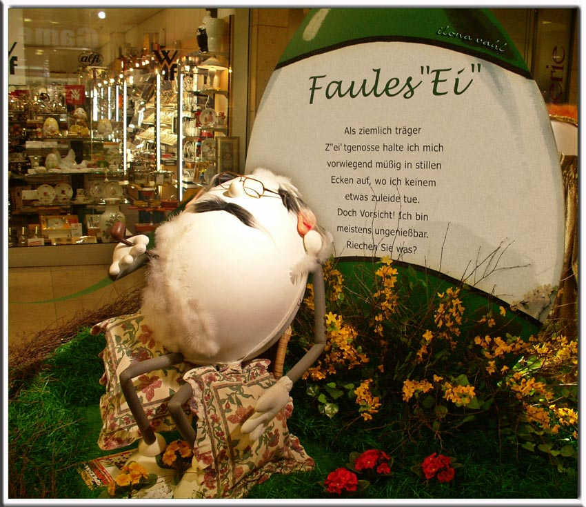 """Oster-Nachlese: """"Faules Ei"""" & Co."""