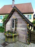 Osterbrunnen in Spalt...............