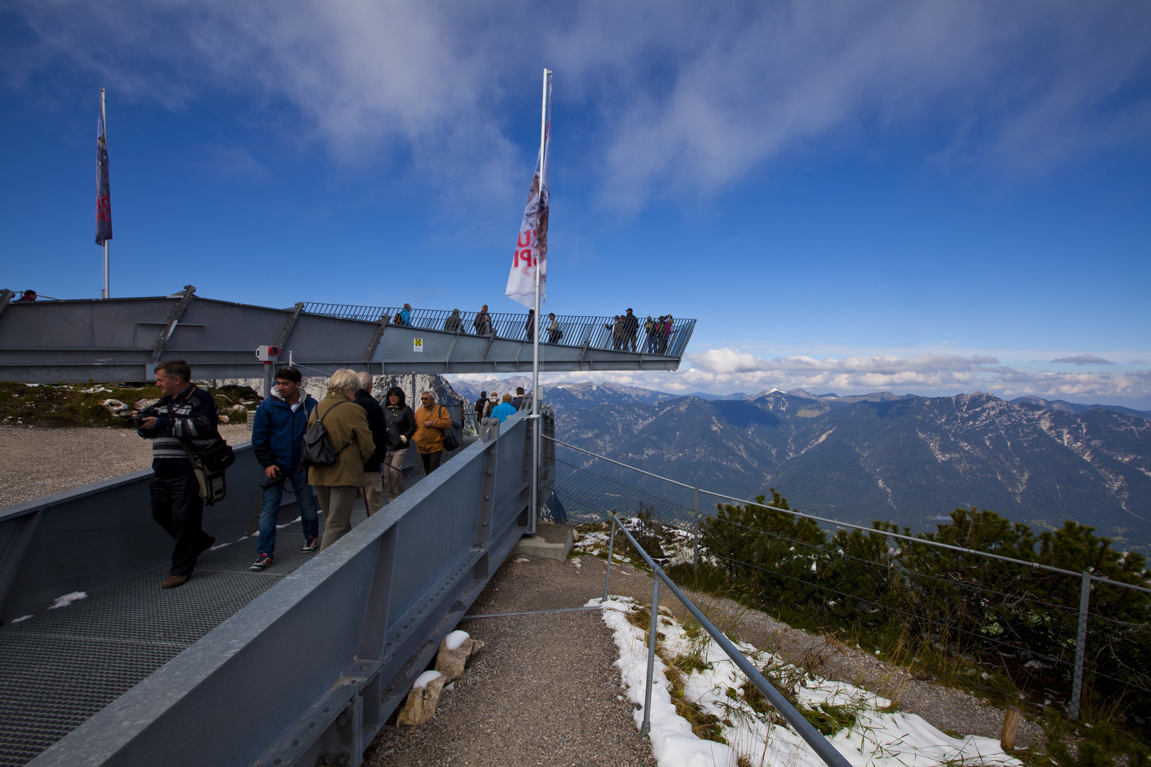 Osterfelderkopf Aussichtsplattform AlpspiX