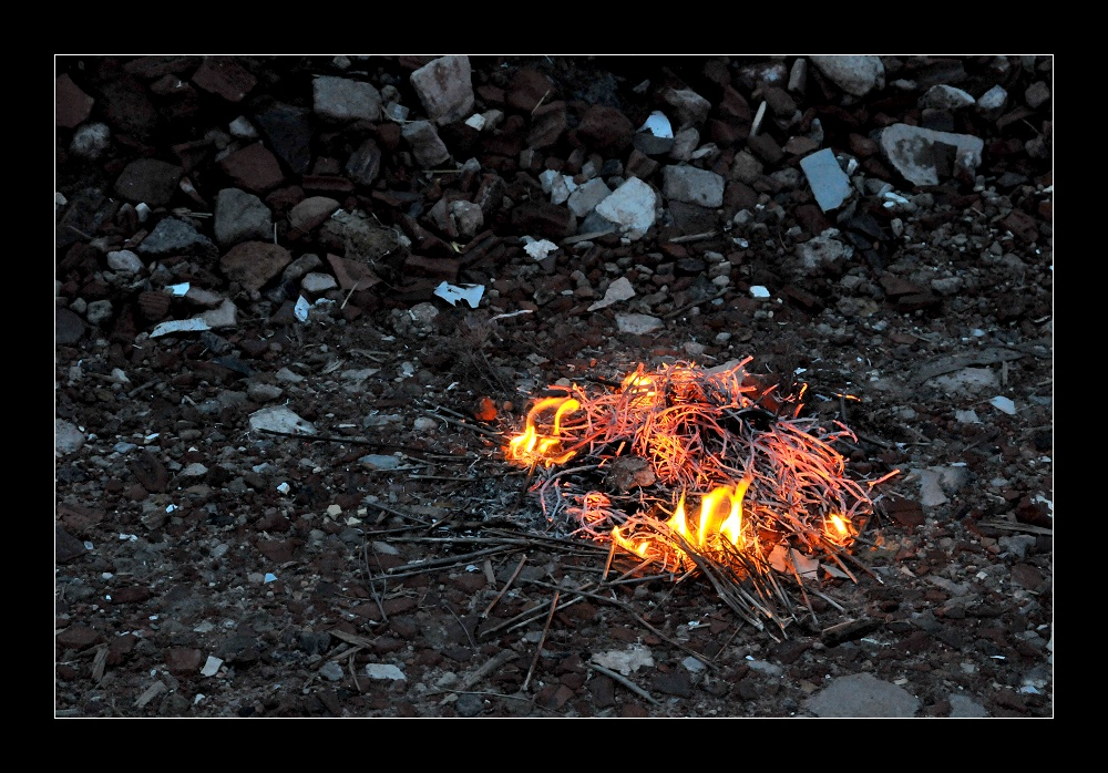 Osterfeuer 2010 ...Ende