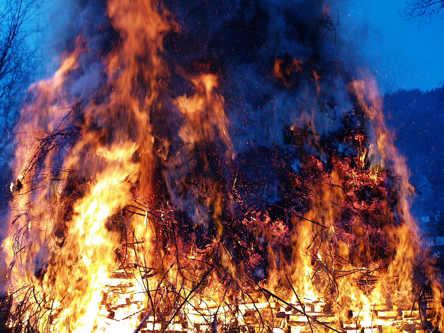 Osterfeuer 2013....