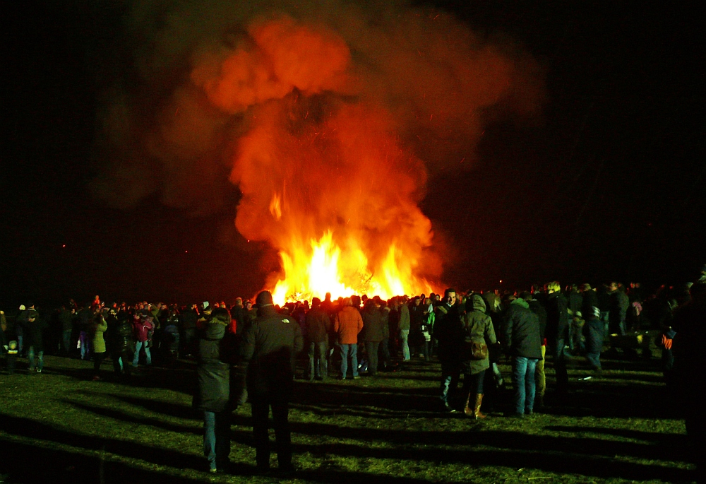 Osterfeuer 2013 II