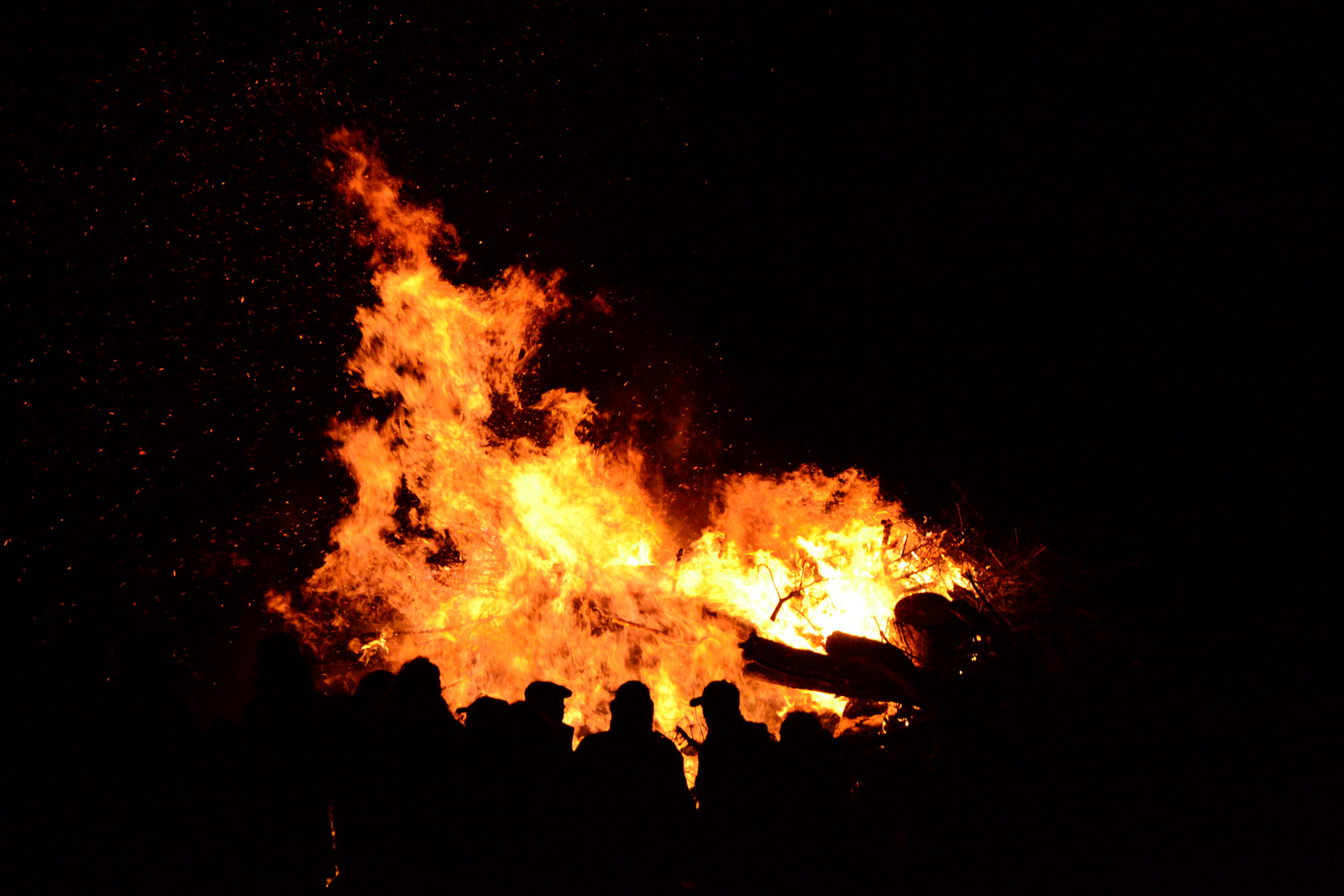 Osterfeuer Harle 2013
