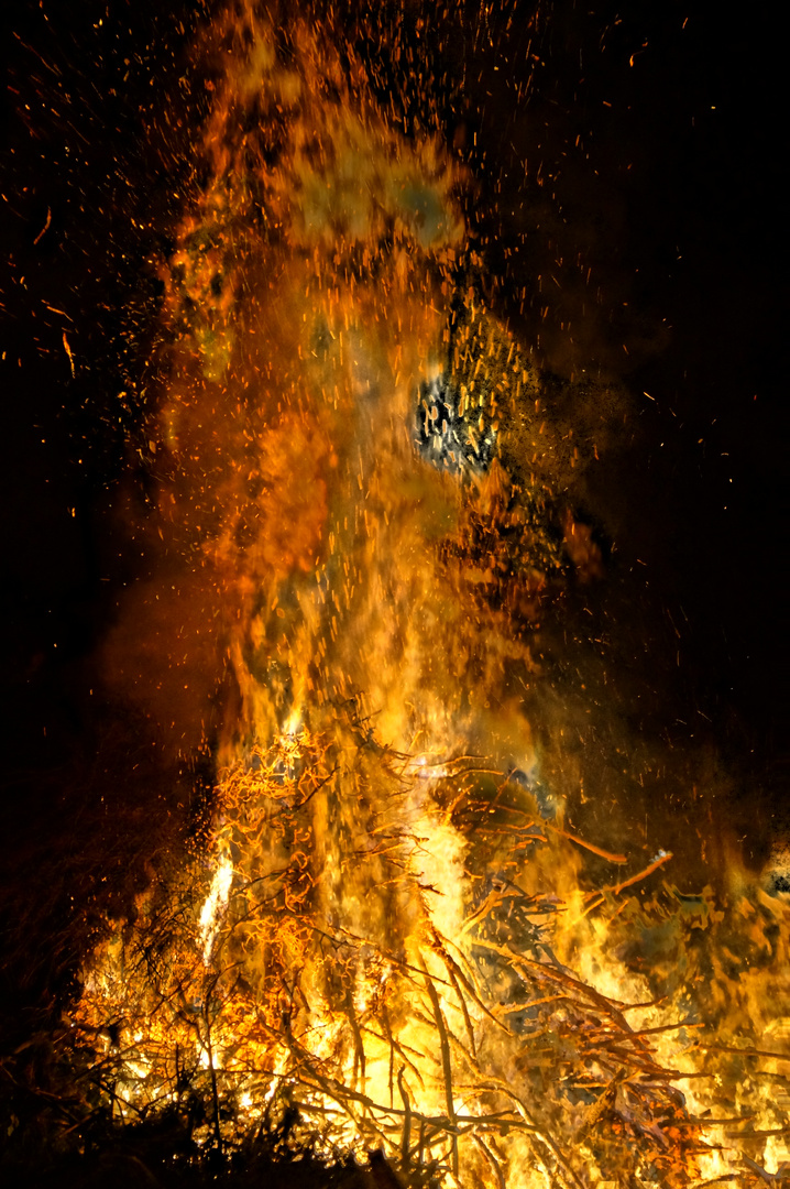 Osterfeuer mal anders