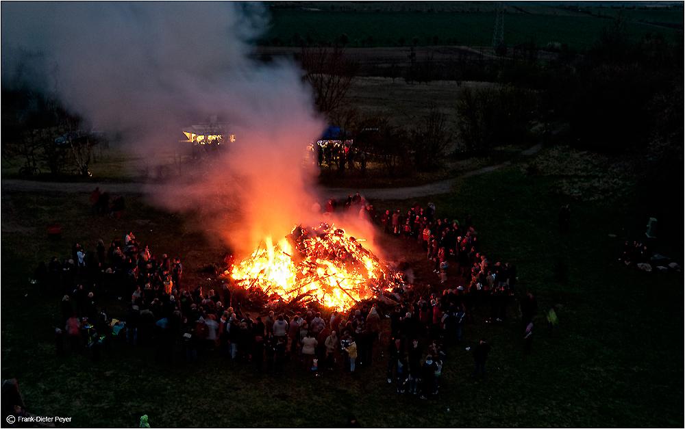 Osterfeuer Niederndodeleben 2012 (2)