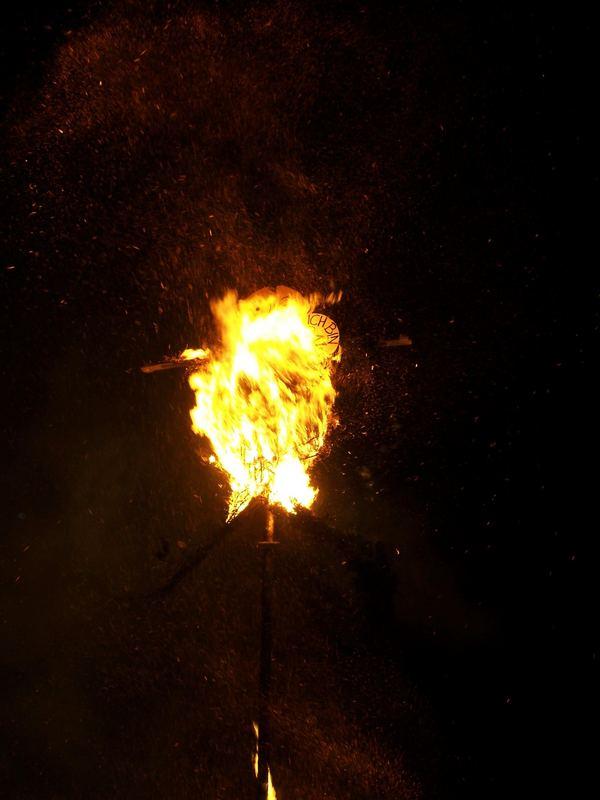 Osterfeuer zu Stecklenberg II