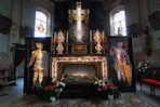 Ostergrab - In der Pafarrkirche St. Michael - in Stanzach - Im Lechtal