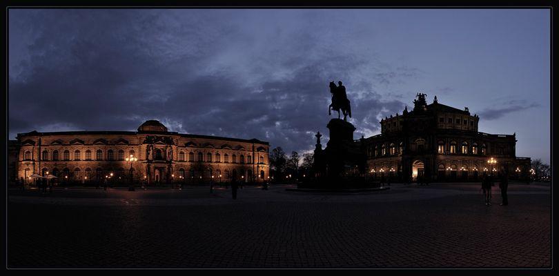 Ostergrüße aus Dresden!