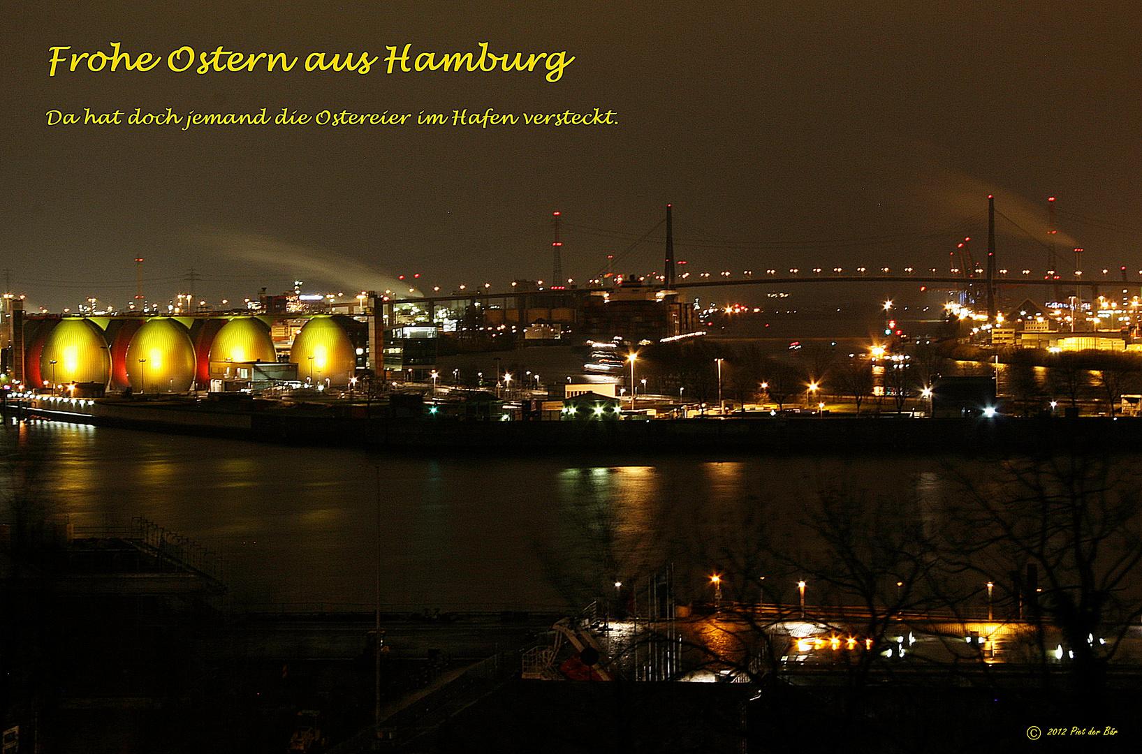 Ostergrüße aus Hamburg