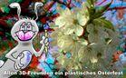 Ostergruß für 3D-Freunde