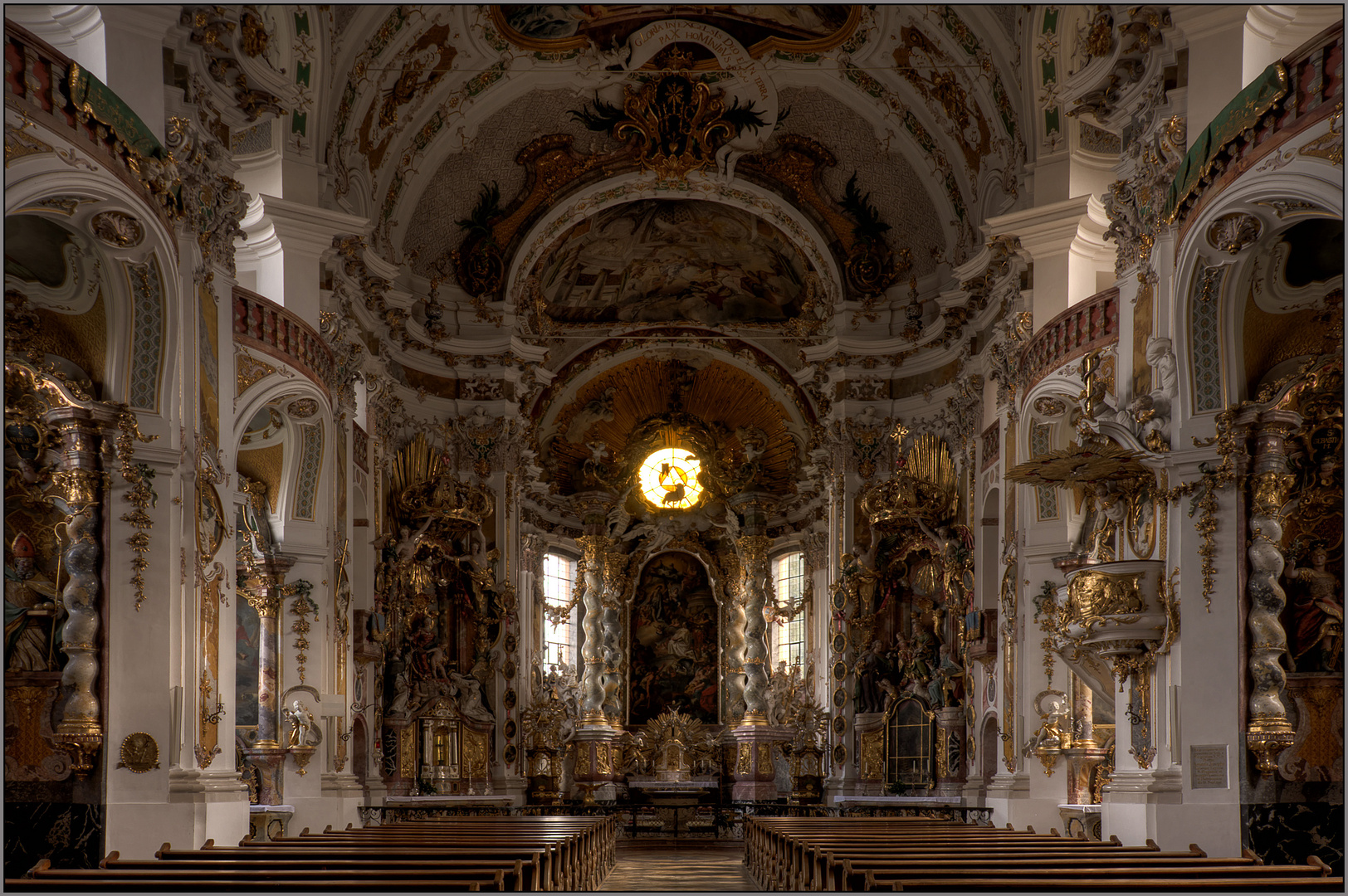 Osterhofen-Basilika St. Margaretha.