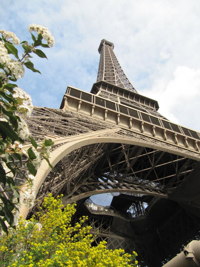 Ostermontag am Eiffelturm