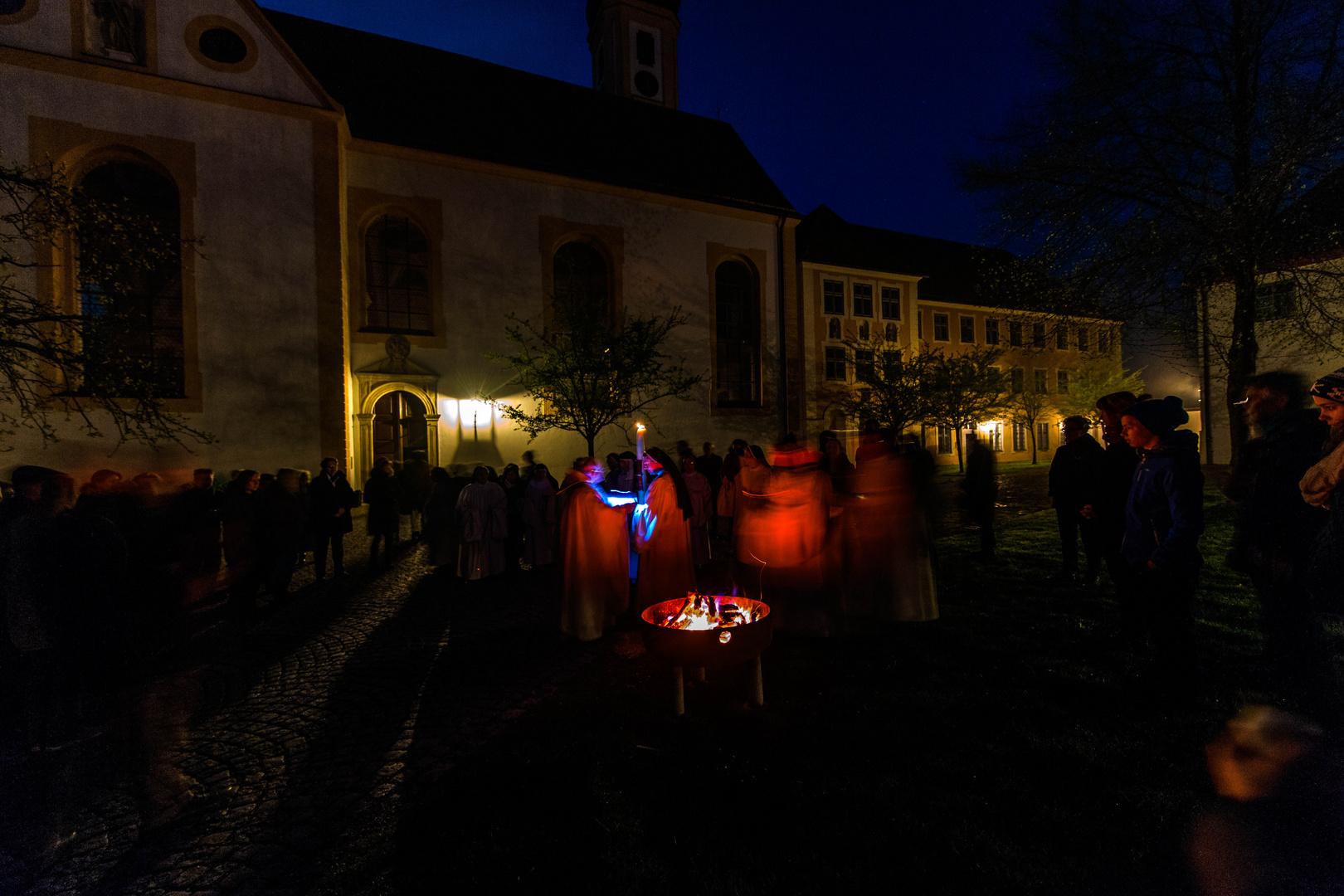 Ostermorgen in der Abtei Oberschönenfeld 4