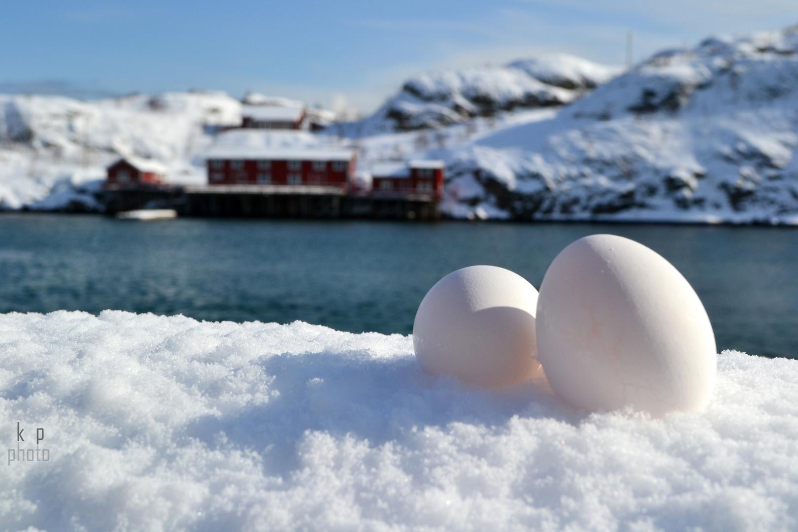 Ostern auf den Lofoten