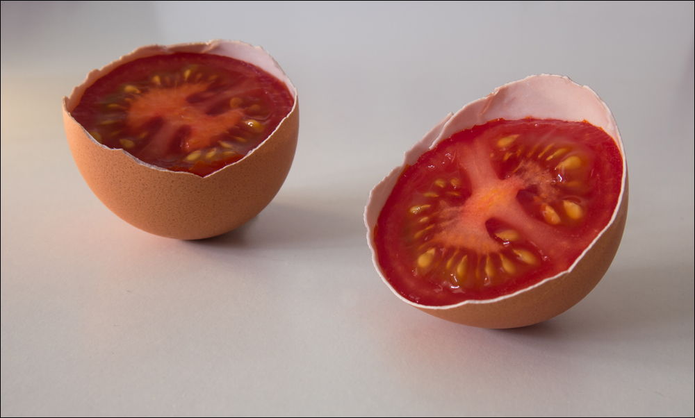 Ostern gibt's Tomaten...