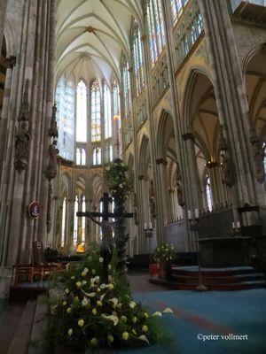 Ostern im Dom zu Köln