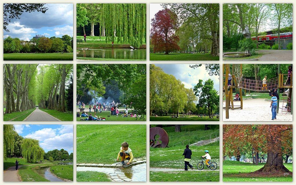 Ostern im Park