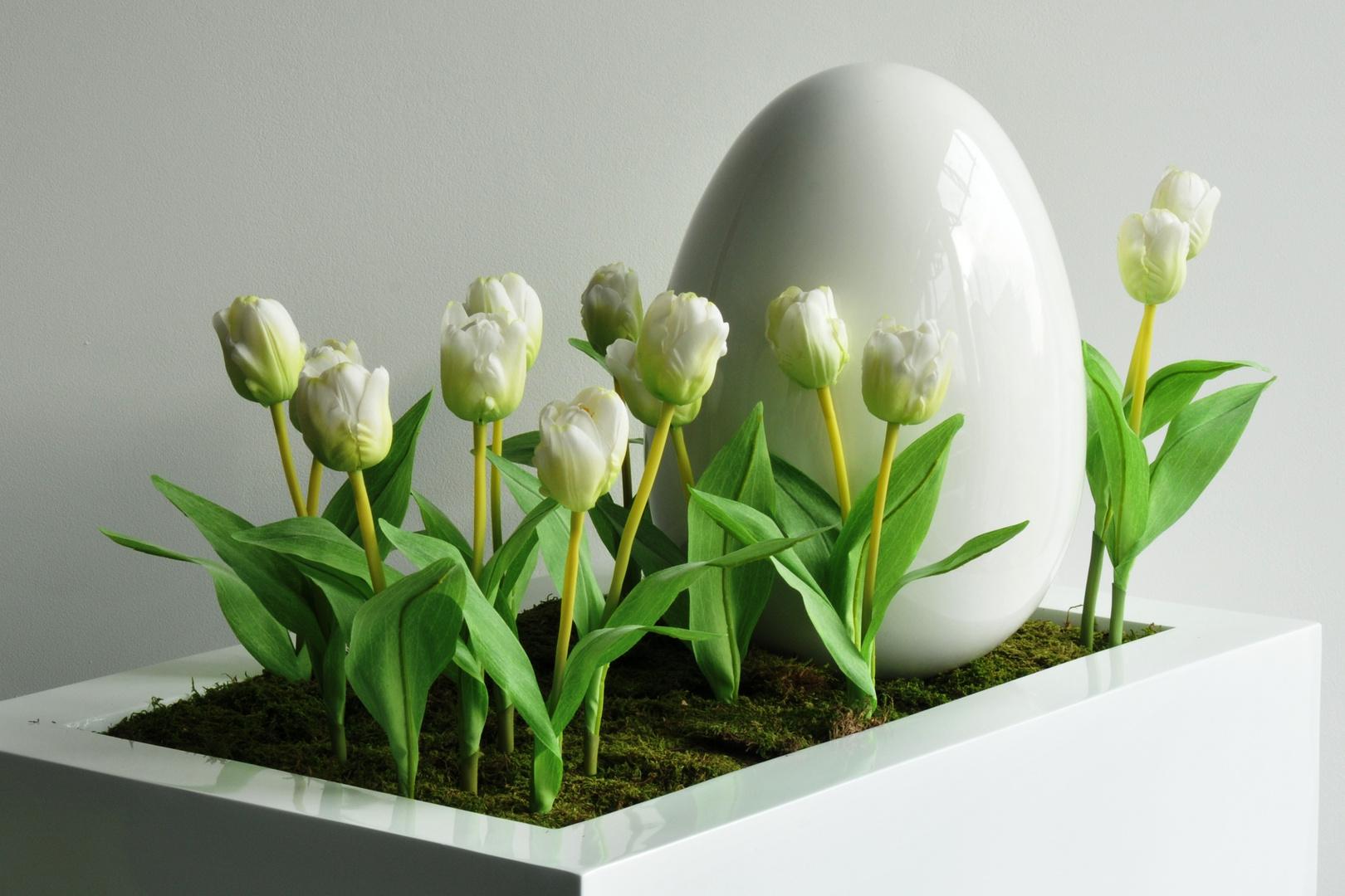 Ostern steht vor der Tür, manchmal auch schon dahinter