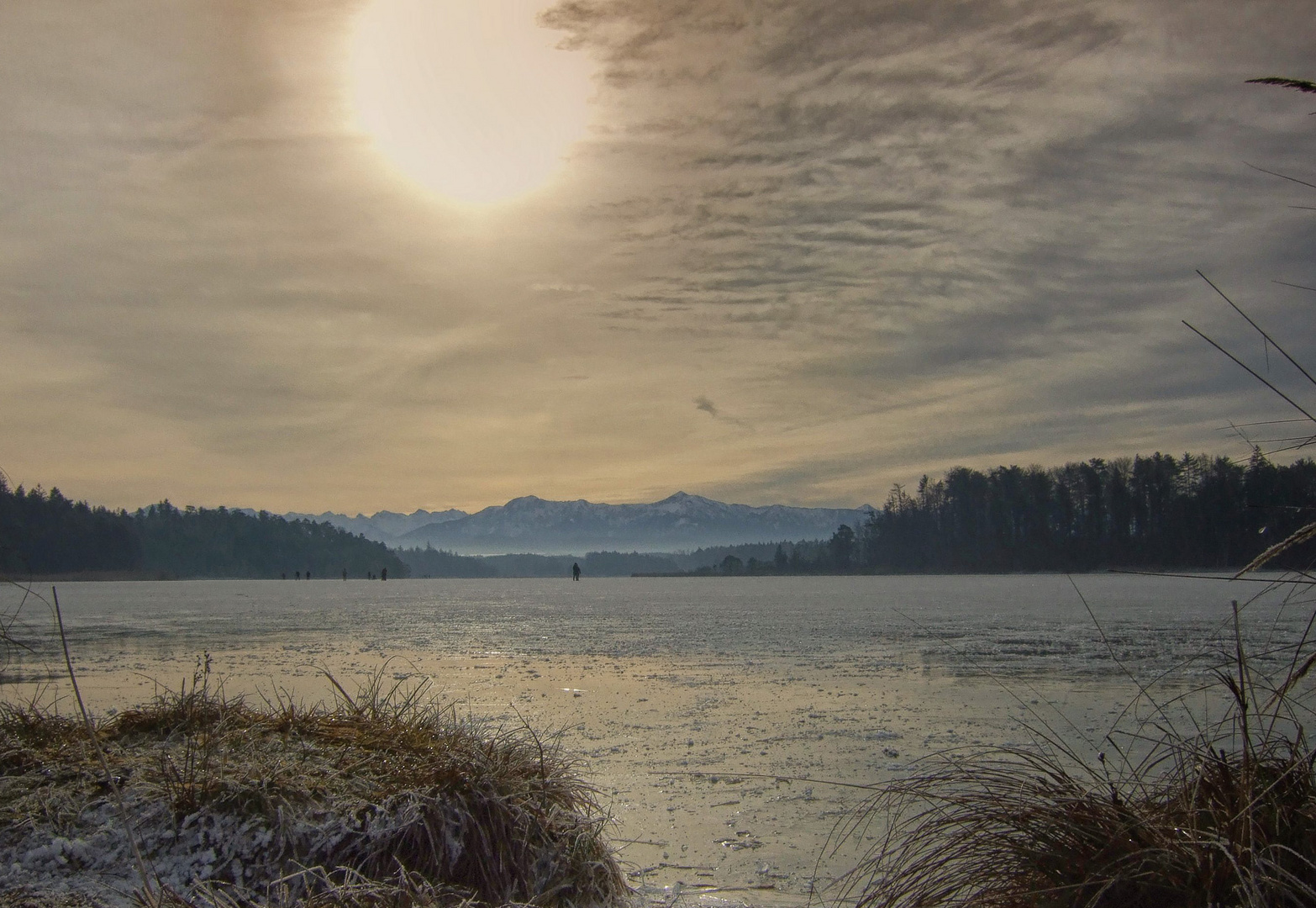 Ostersee im Winter