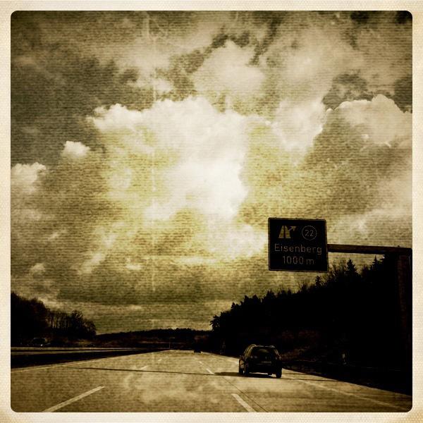 Ostersonntag auf der Autobahn ...