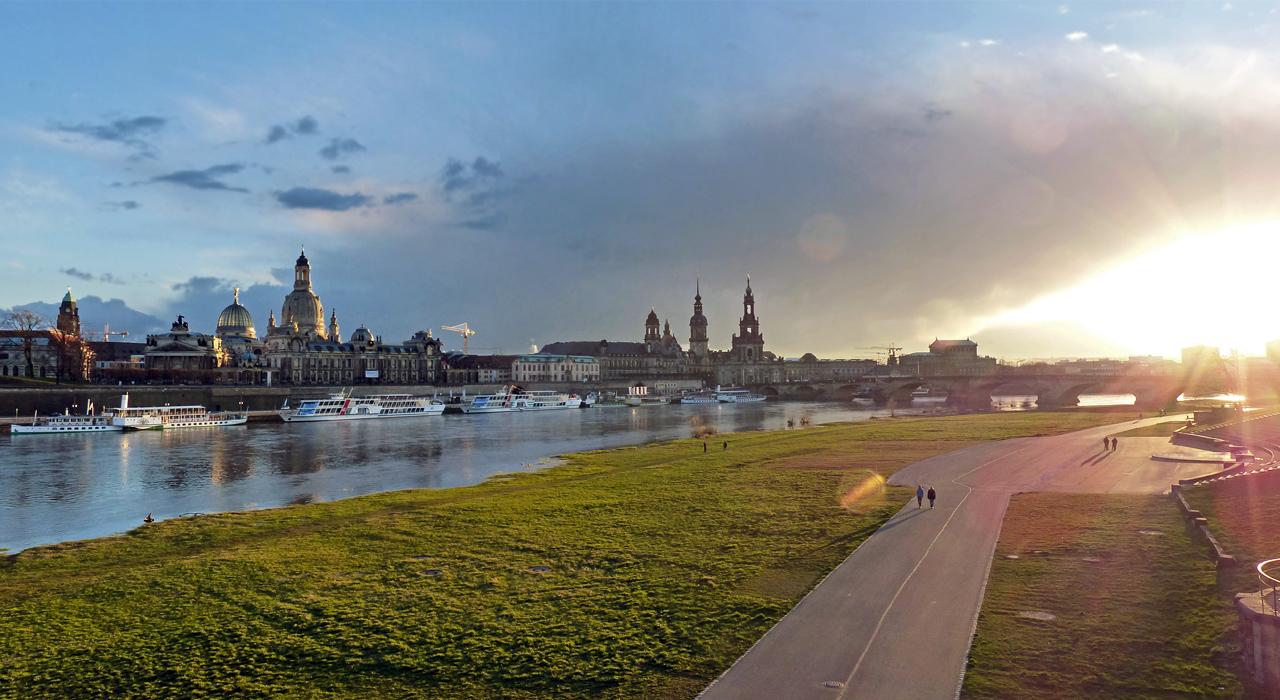 Ostersonntag in Dresden