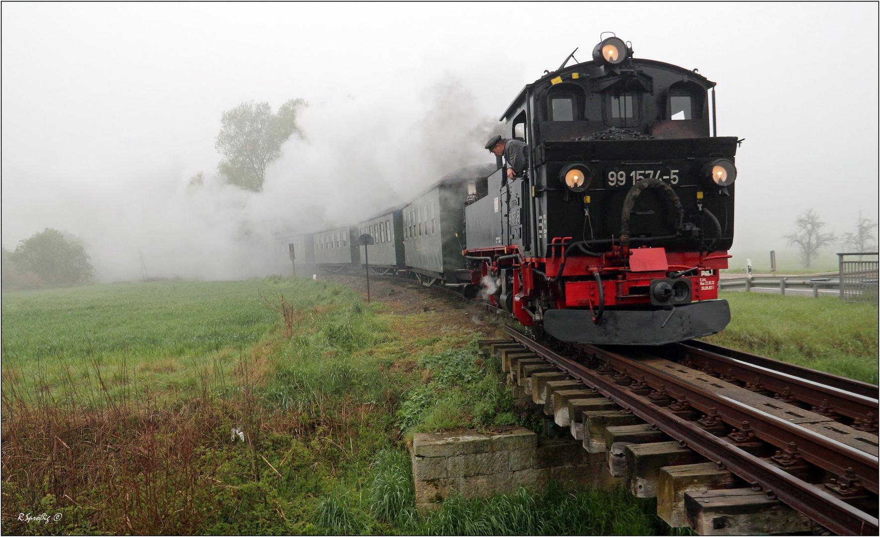 - Osterstart in Nebel -