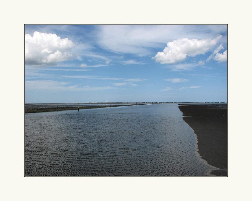 Ostfriesiches  Wattenmeer.