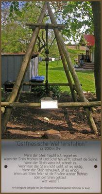 Ostfriesische Wetterstation :-)