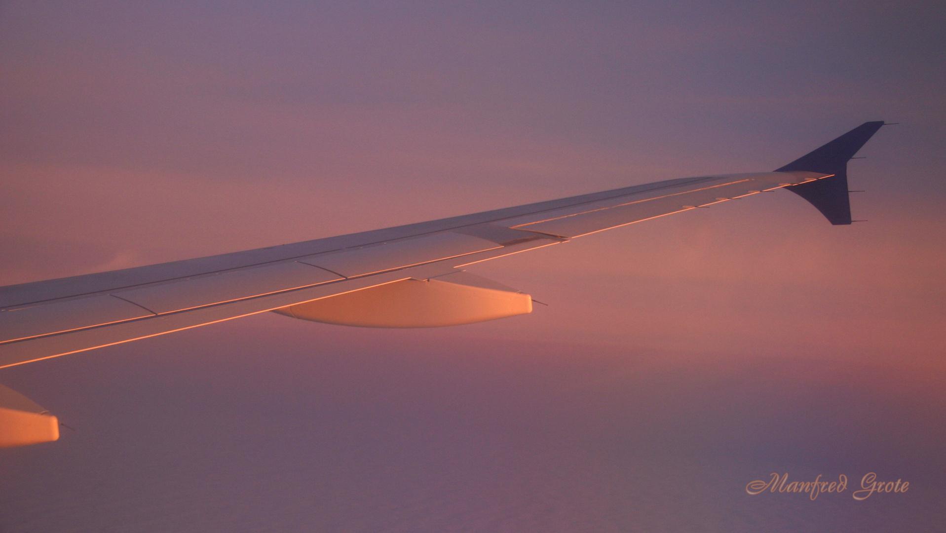 Ostfriesland über den Wolken
