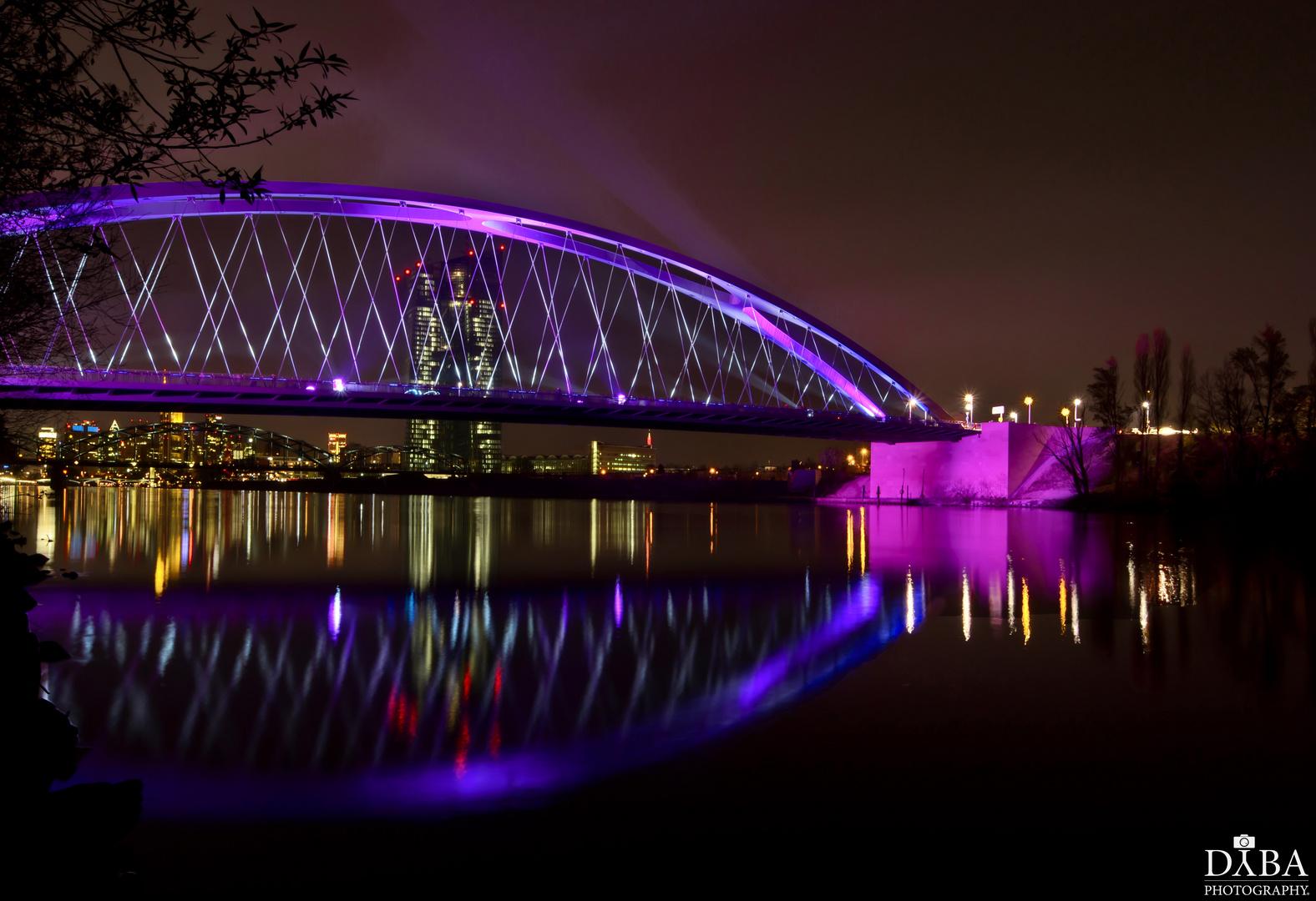 Osthafenbrücke Luminale 2014