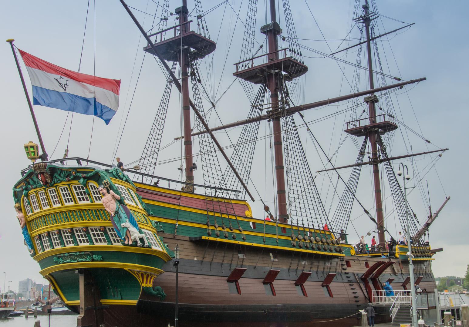 Ostindiensegler - Schifffahrtsmuseum Amsterdam