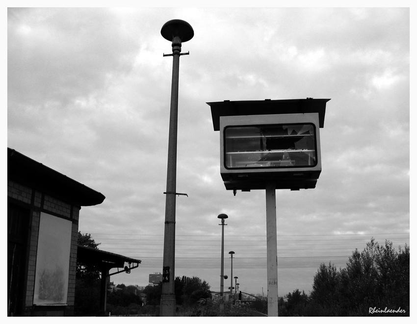 *...Ostkreuz - Bahnsteig A III ...*