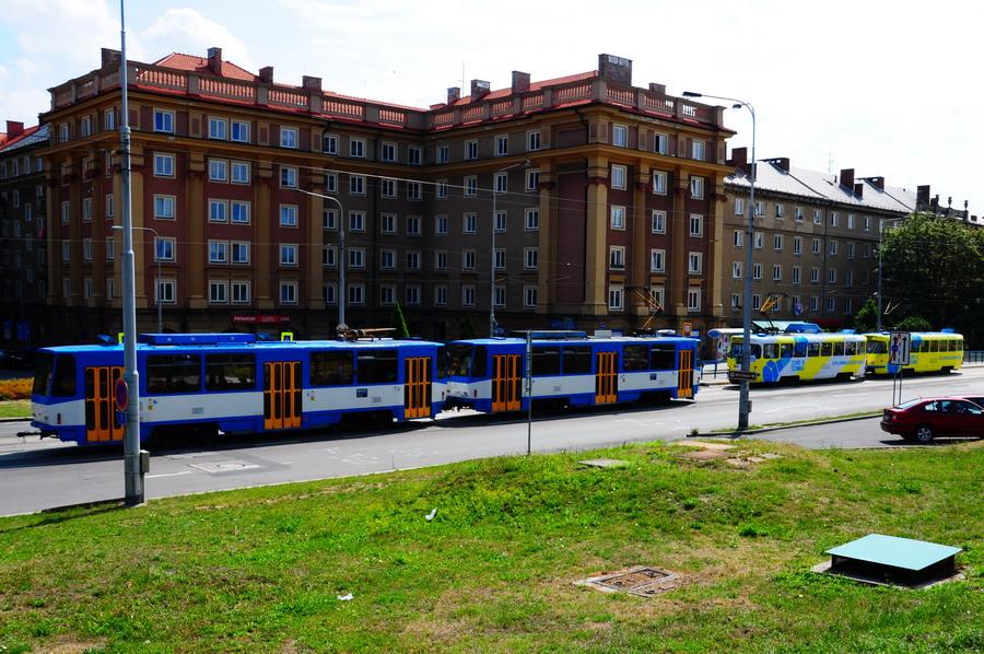 Ostrava Poruba 2013- T3 und T6