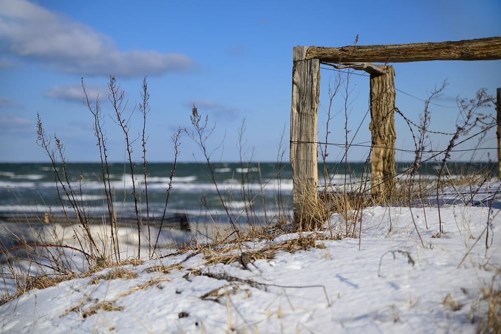 Ostsee bei Sturm