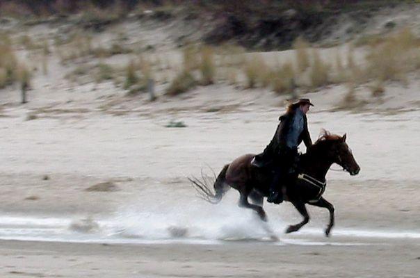 Ostsee-Cowgirl  (für Franz)