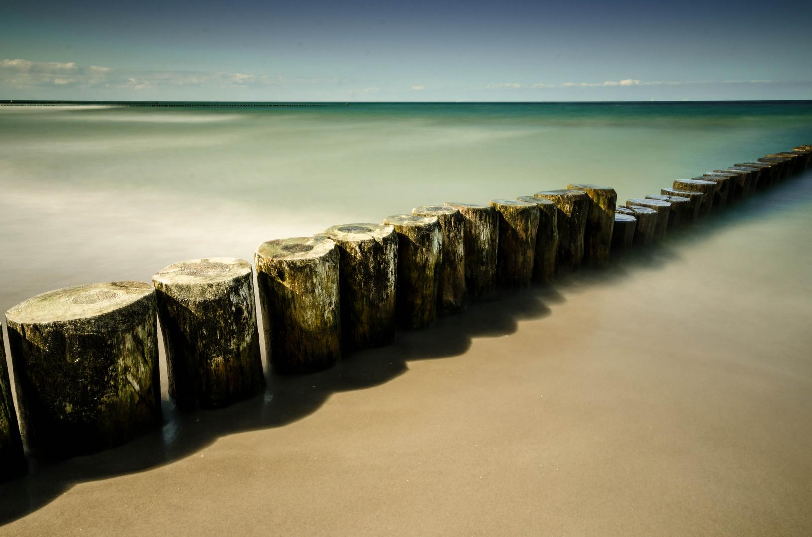 Ostsee die Stille