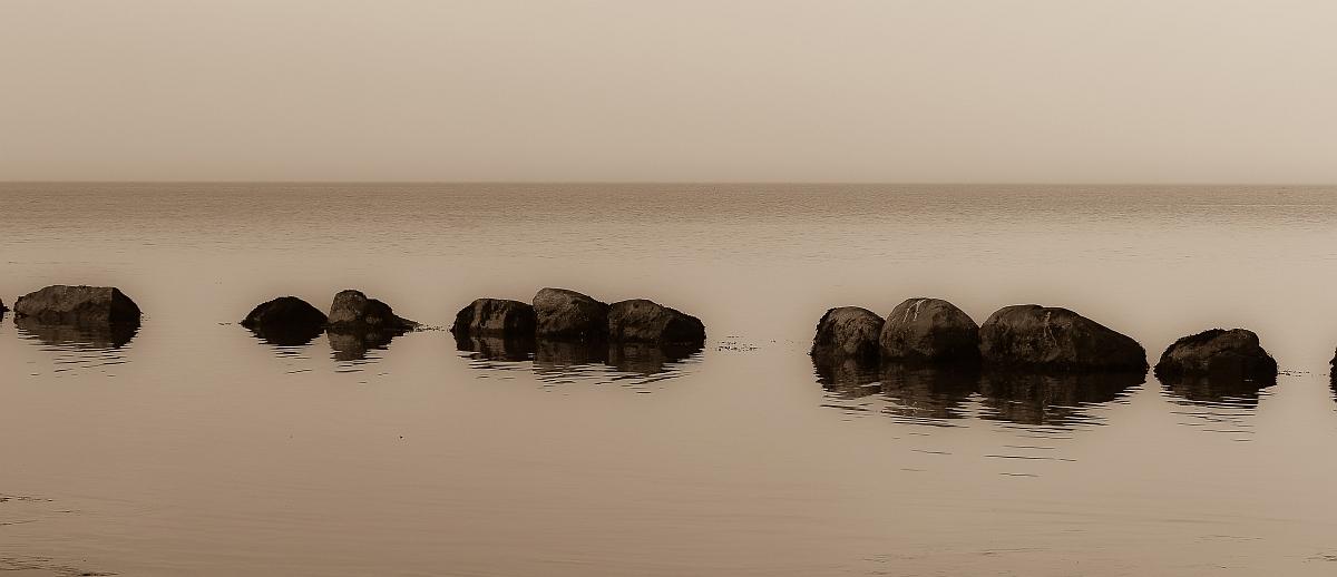 Ostsee ganz ruhig