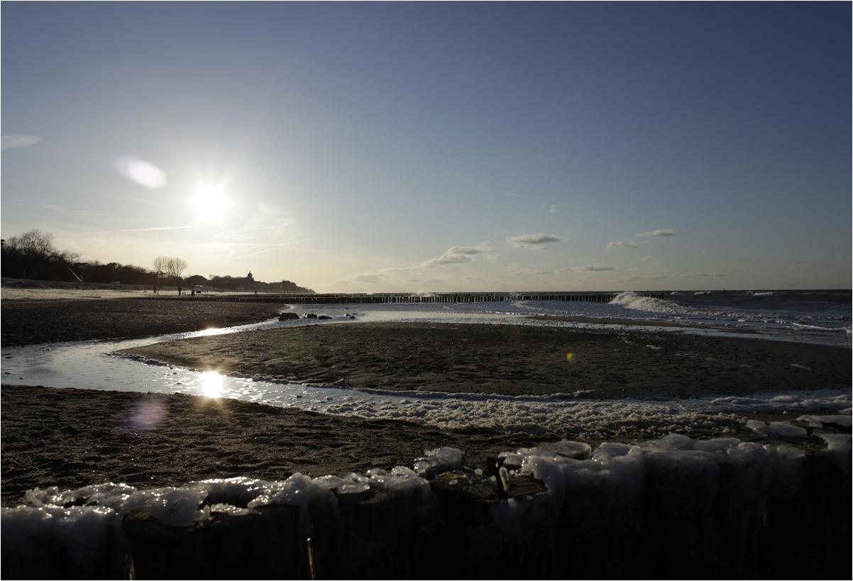 Ostsee im März